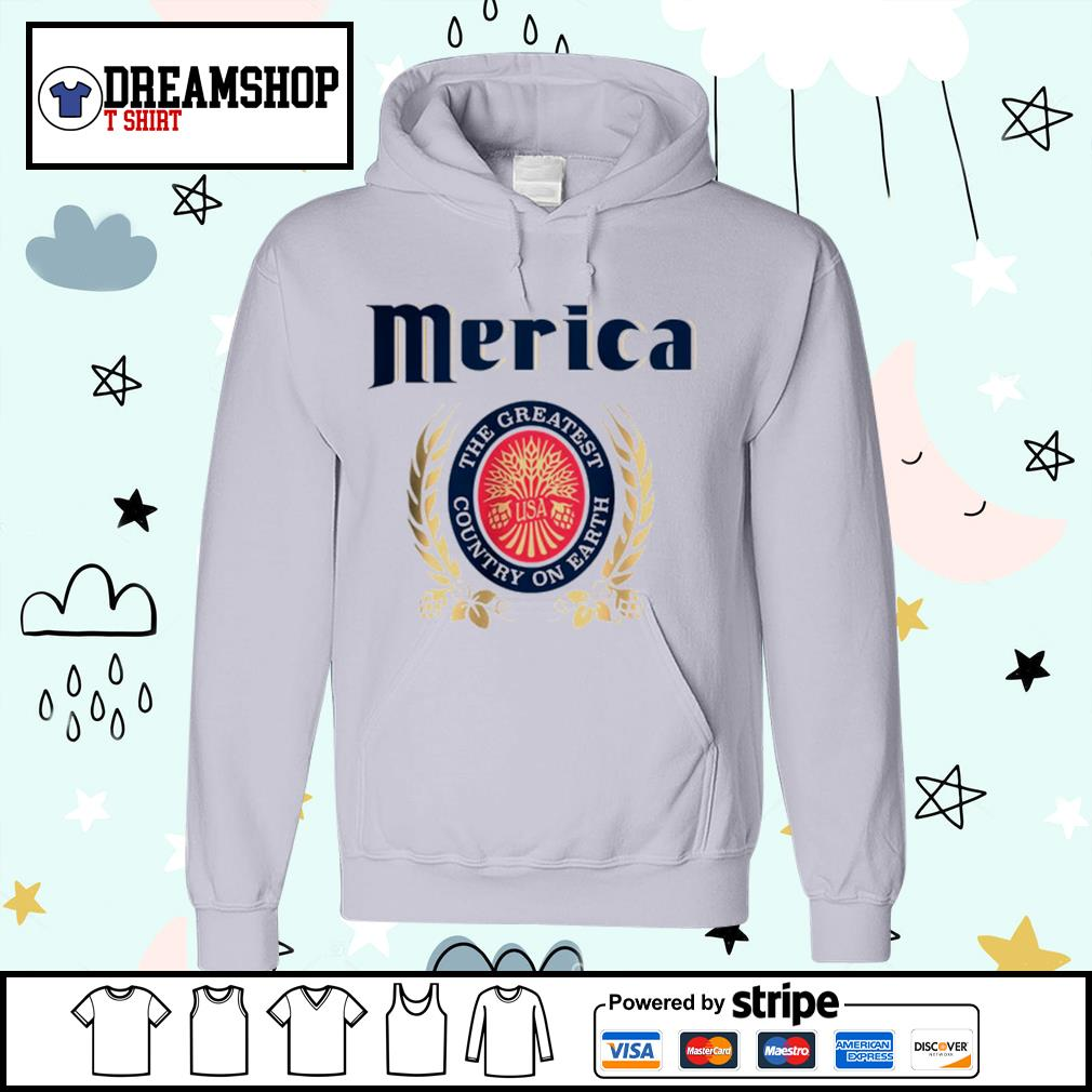 Merica the greatest country on earth s hoodie