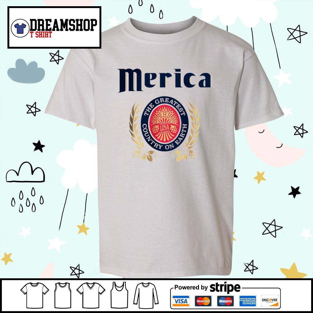Merica the greatest country on earth s kid-shirt