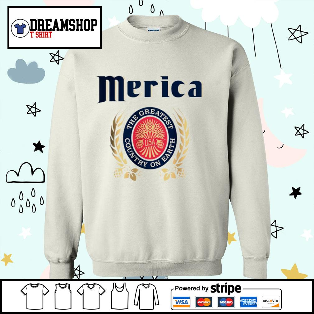 Merica the greatest country on earth s sweater